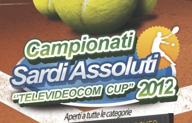 Locandina Campionati Assoluti Sardi Televideocom Cup