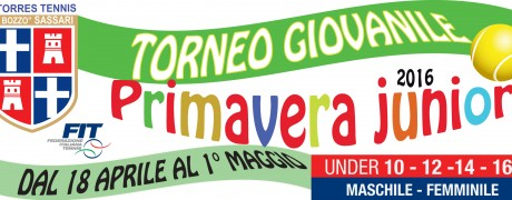 Torneo primavera junior 2016