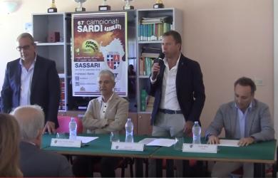 Conferenza stampa di presentazione Campionati Assoluti Sardi 2016